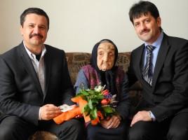 Fotó: Maria Uscă N. Ioţcu megyei elnök és Antal P. társaságában